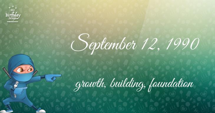 September 12, 1990 Birthday Ninja