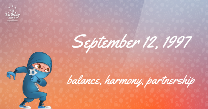 September 12, 1997 Birthday Ninja