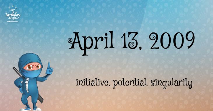 April 13, 2009 Birthday Ninja