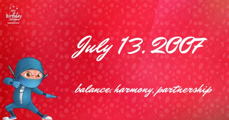 July 13, 2007 Birthday Ninja