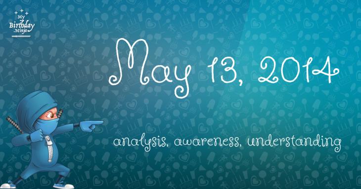 May 13, 2014 Birthday Ninja