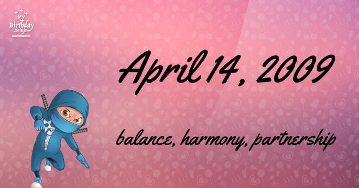 April 14, 2009 Birthday Ninja