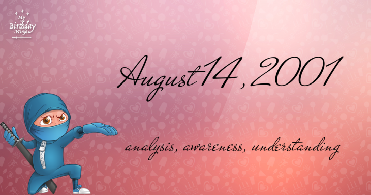 August 14, 2001 Birthday Ninja