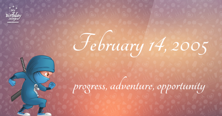 February 14, 2005 Birthday Ninja