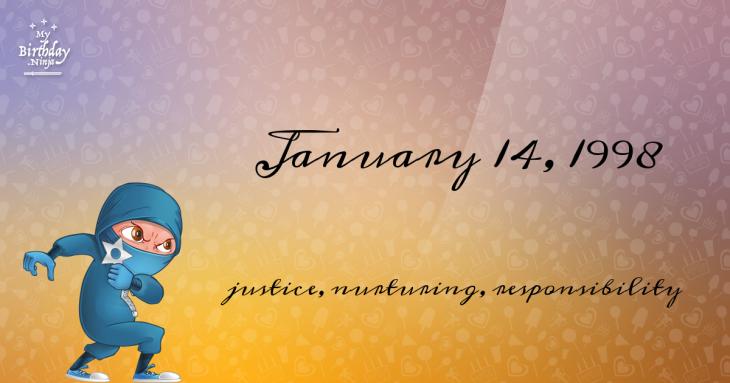 January 14, 1998 Birthday Ninja