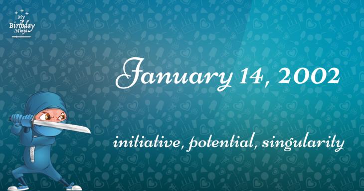 January 14, 2002 Birthday Ninja