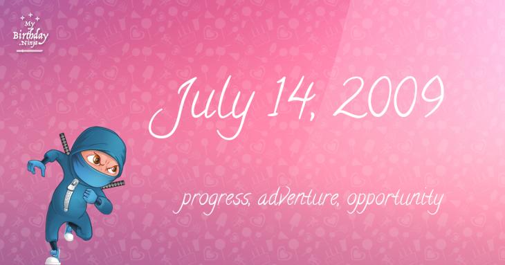 July 14, 2009 Birthday Ninja