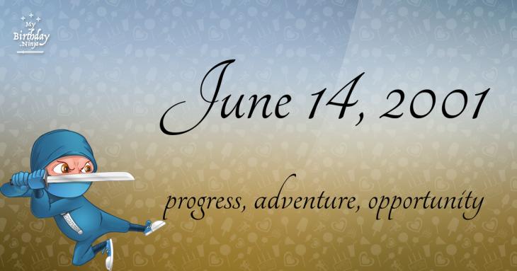 June 14, 2001 Birthday Ninja