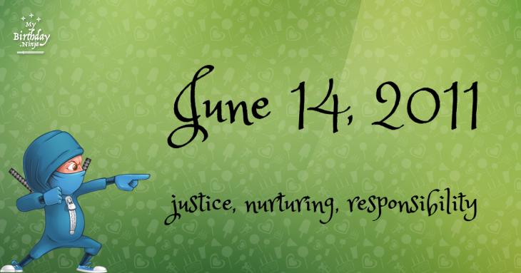 June 14, 2011 Birthday Ninja