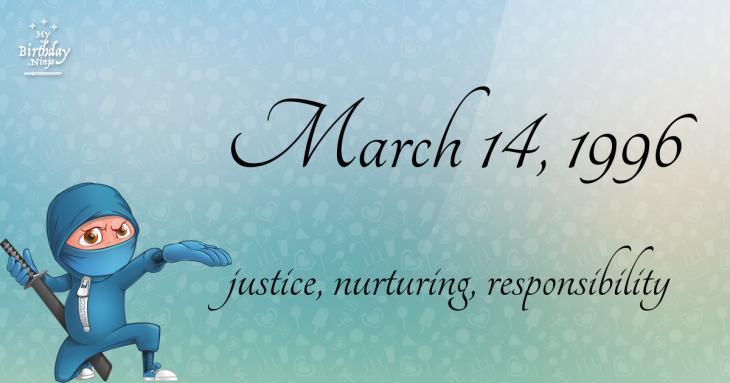 March 14, 1996 Birthday Ninja