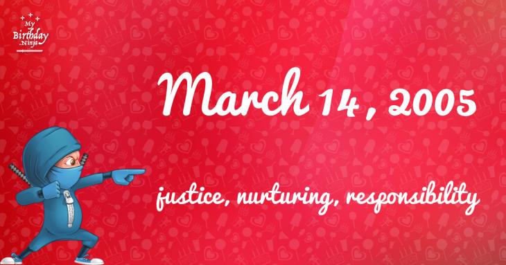 March 14, 2005 Birthday Ninja