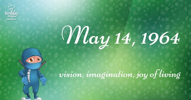May 14, 1964 Birthday Ninja