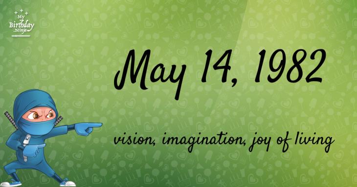 May 14, 1982 Birthday Ninja