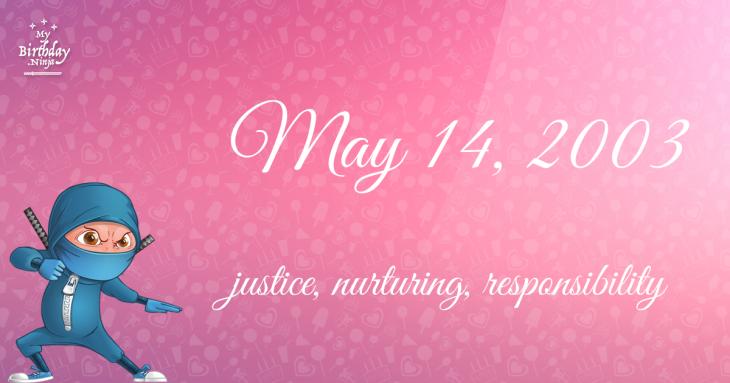 May 14, 2003 Birthday Ninja