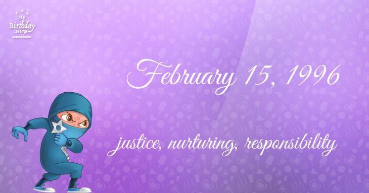February 15, 1996 Birthday Ninja