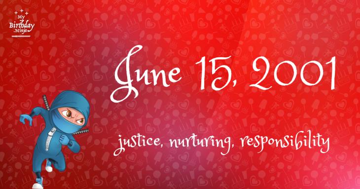 June 15, 2001 Birthday Ninja