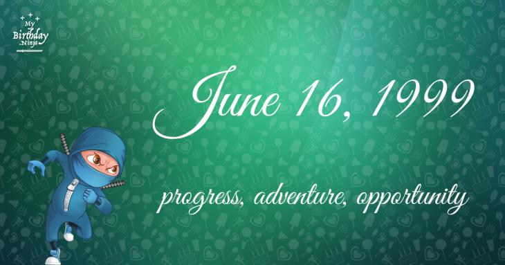 June 16, 1999 Birthday Ninja