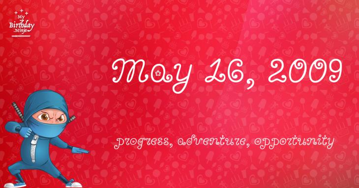 May 16, 2009 Birthday Ninja