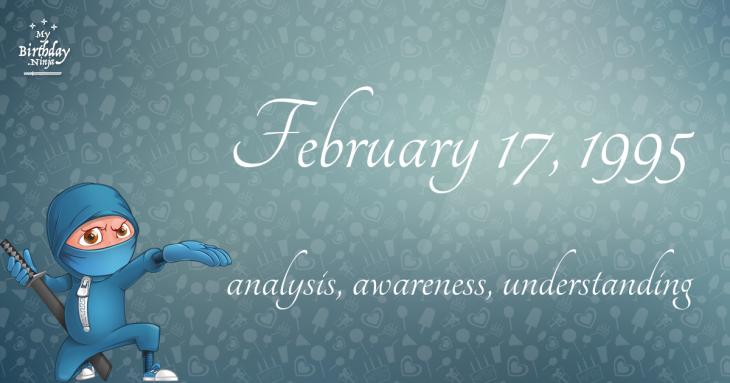 February 17, 1995 Birthday Ninja