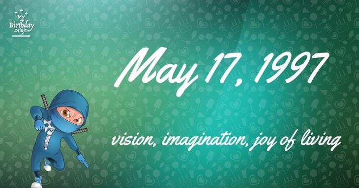 May 17, 1997 Birthday Ninja