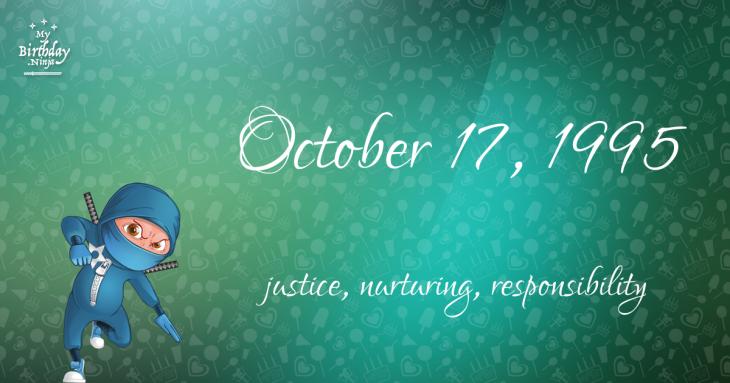 October 17, 1995 Birthday Ninja