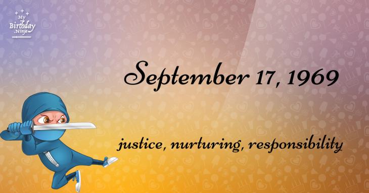 September 17, 1969 Birthday Ninja