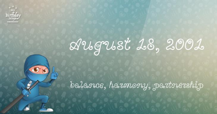 August 18, 2001 Birthday Ninja