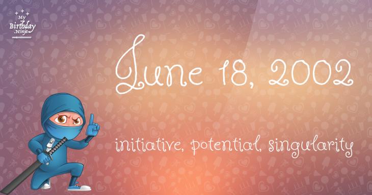 June 18, 2002 Birthday Ninja