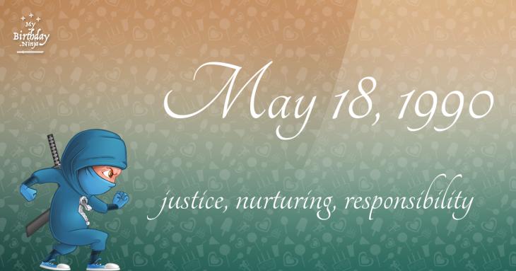 May 18, 1990 Birthday Ninja