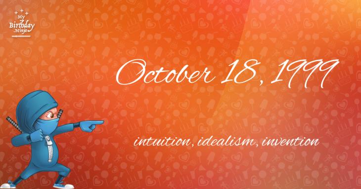 October 18, 1999 Birthday Ninja