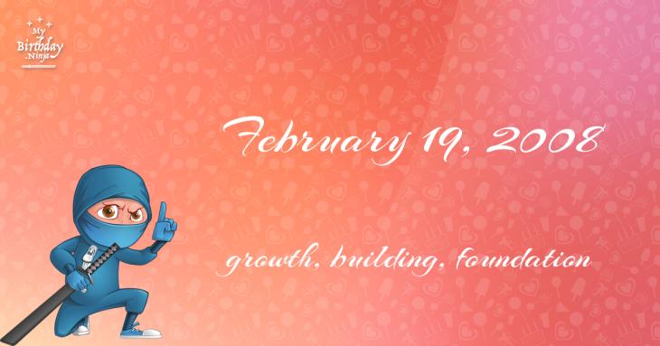 February 19, 2008 Birthday Ninja
