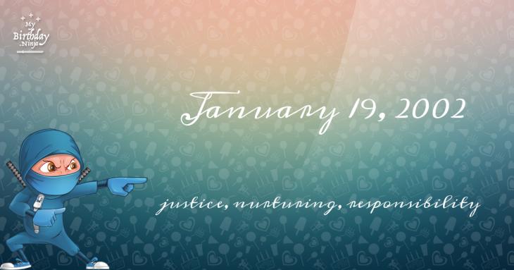 January 19, 2002 Birthday Ninja