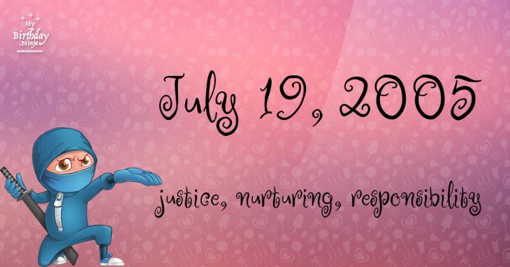 July 19, 2005 Birthday Ninja