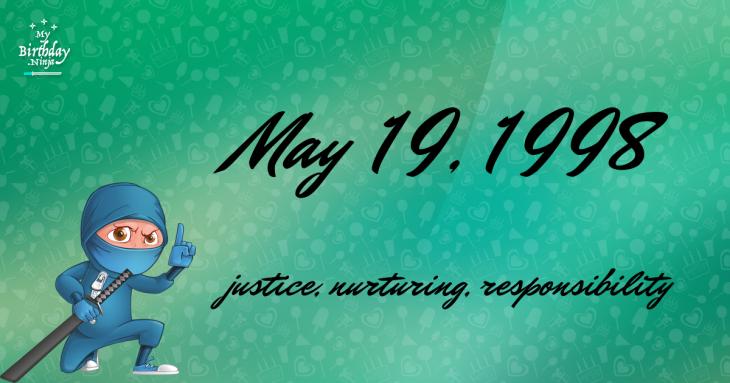 May 19, 1998 Birthday Ninja