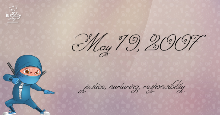 May 19, 2007 Birthday Ninja