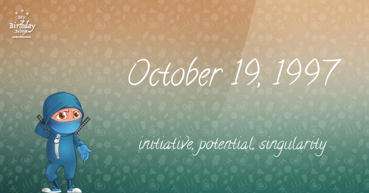October 19, 1997 Birthday Ninja