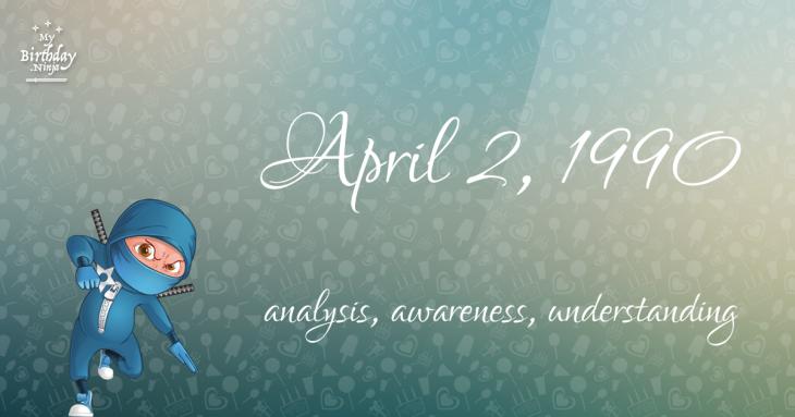 April 2, 1990 Birthday Ninja
