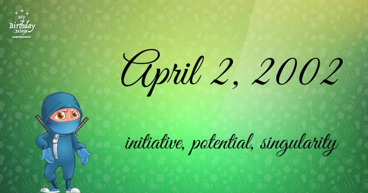 April 2, 2002 Birthday Ninja