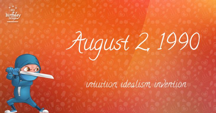 August 2, 1990 Birthday Ninja