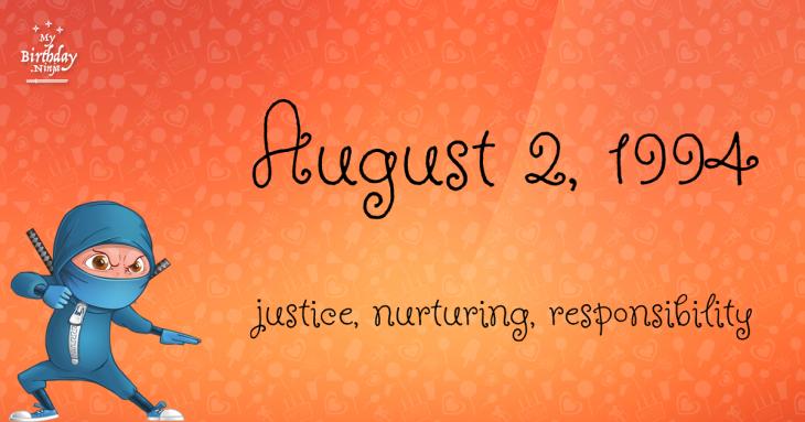August 2, 1994 Birthday Ninja