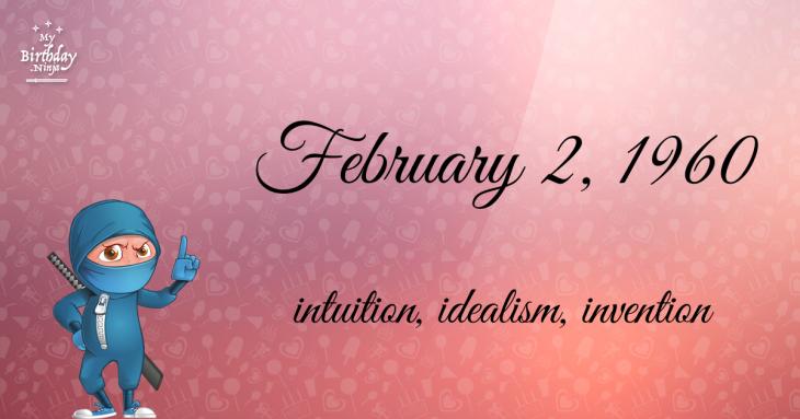 February 2, 1960 Birthday Ninja