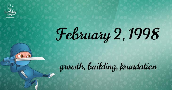 February 2, 1998 Birthday Ninja