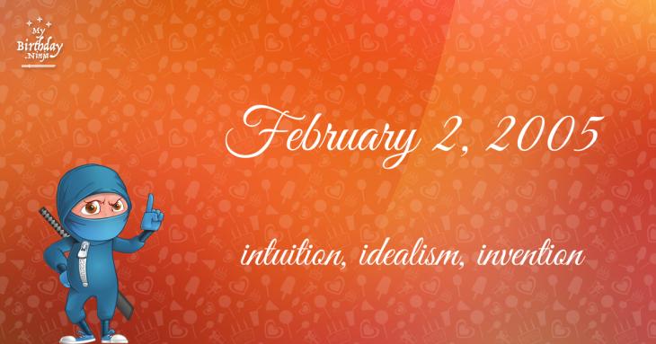 February 2, 2005 Birthday Ninja