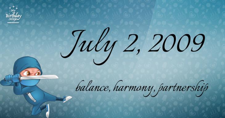 July 2, 2009 Birthday Ninja