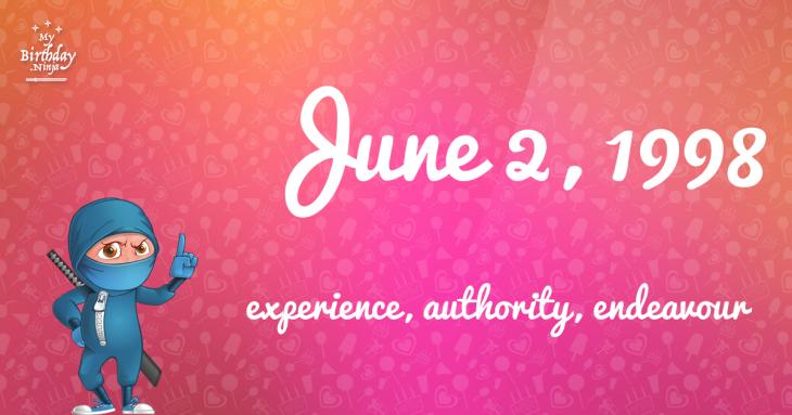 June 2, 1998 Birthday Ninja