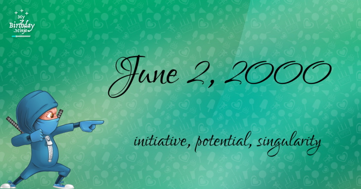 June 2, 2000 Birthday Ninja