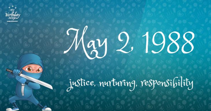 May 2, 1988 Birthday Ninja