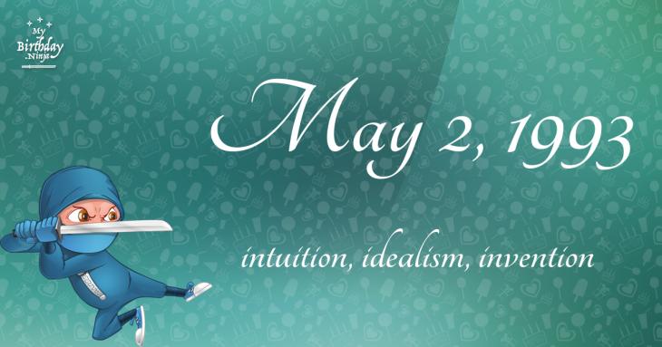 May 2, 1993 Birthday Ninja