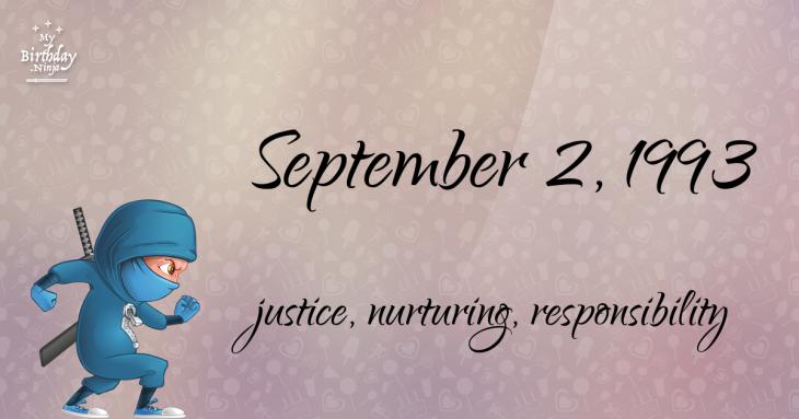 September 2, 1993 Birthday Ninja