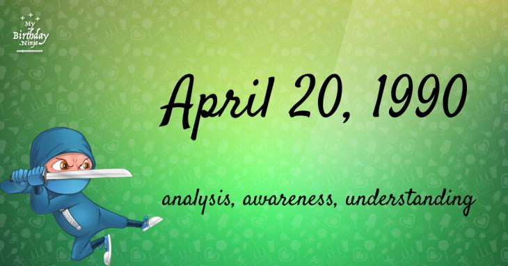 April 20, 1990 Birthday Ninja